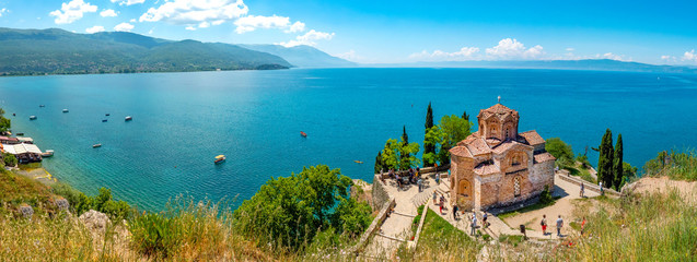 Kirche des Heiligen Johannes von Kaneo und Ohridsee, Ohrid