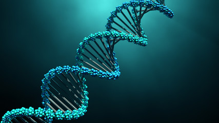 DNA molecule  Wall mural