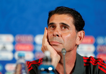 World Cup - Spain Press Conference