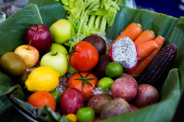 Thai fruit and vegetables