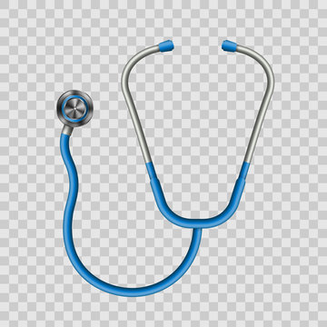 Creative vector illustration of medical health care stethoscope isolated on transparent background. Art design medicine equipment. Abstract concept graphic element