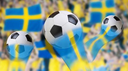 sweden soccer fans public viewing