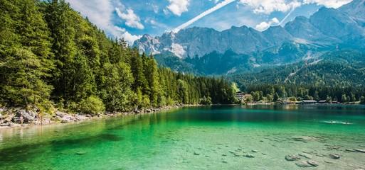 Scenic Bavarian Lake Eibsee