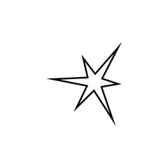 bright Star line icon. Element of star icon for mobile concept and web apps. Thin line bright Star icon can be used for web and mobile. Premium icon