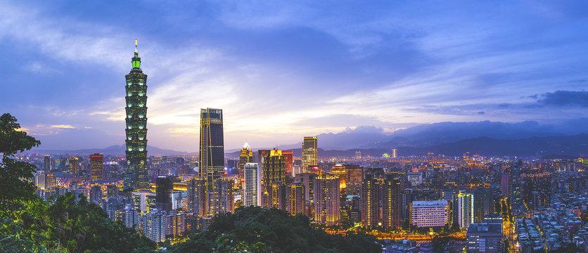 台湾 台北の都市風景