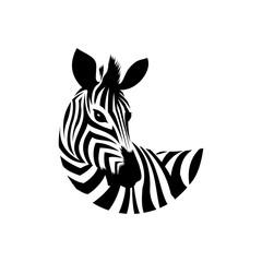 Fototapeta zebra icon