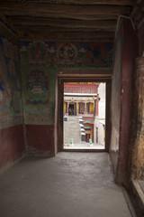 Leh, LAdakh, India monastery