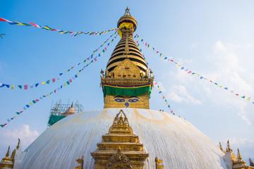 Swayambhunath - monkey temple in Nepal