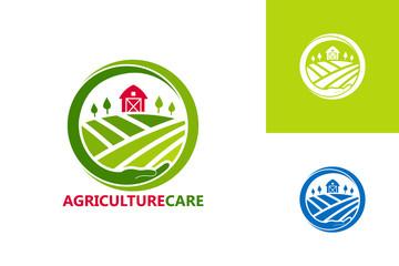 Agriculture Care Logo Template Design Vector, Emblem, Design Concept, Creative Symbol, Icon