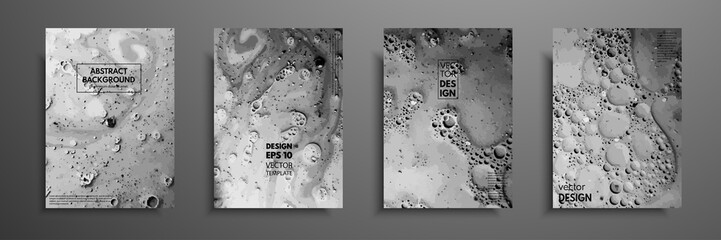 Fototapete - Mixture of acrylic paints. Liquid marble texture. Fluid art. Applicable for design cover, presentation, invitation, flyer, annual report, poster and business card, desing packaging. Modern artwork.