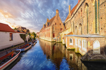 Saint John's hospital, Bruges, Brugge, Belgium.