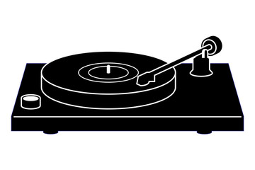 Audio equipment for the music experience. Turntable