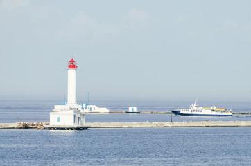 Vorontsov Lighthouse in Odessa, Ukraine