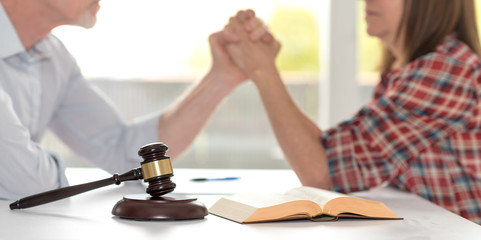 Concept of conflict during divorce