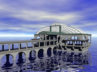 Seerestaurant am Meer