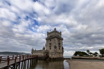 Torre de Belem in Lisbon Portugal