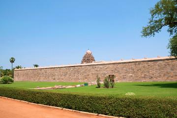 Prakara wall, Airavatesvara Temple, Darasuram, Tamil Nadu