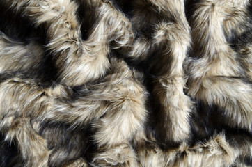 Abstract fake fur background.