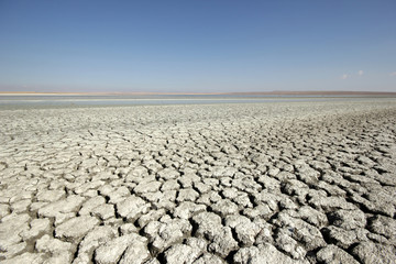 salt lakes and barren lands in Turkey