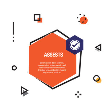 Assests Infographic Icon