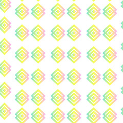 Pattern. Geometric seamless Texture. Bright background, summer theme seamless pattern, vector wallpaper, summer texture, wrapping flowers, spring and summer theme for your design.
