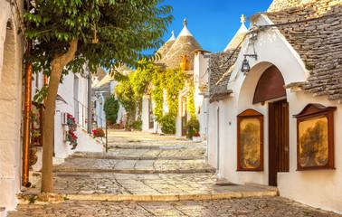 Alberobello Trulli Houses, Puglia, Italy Fototapete