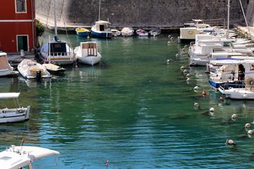 Hafen in Zadar, Kroatien