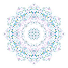 Vector mandala, Floral mandala. Oriental mandala. Vintage decorative elements. Vector illustration. It is super brilliant vector illustration