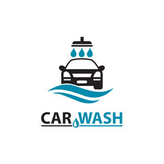 car wash service icon isolated on white background