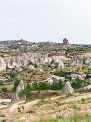 rural scenic in Goreme National Park