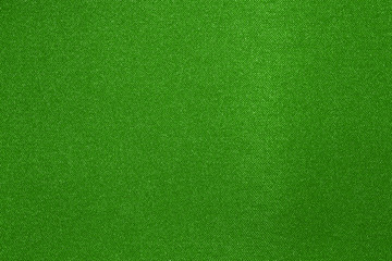 Green fabric texture.Green bright background.