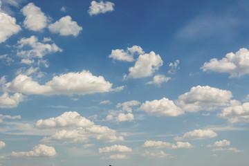 Blue sky and clouds sky, blue sky background, sky panorama