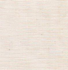 Fabric Texture. White Canvas Background