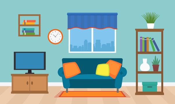 4 866 Best Living Room Tv Cartoon Images Stock Photos Vectors Adobe Stock