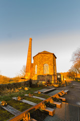 Middleton Top Engine House in early morning light