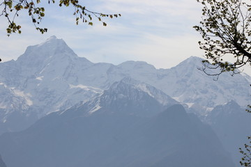 Mountains in Uttrakhand, India