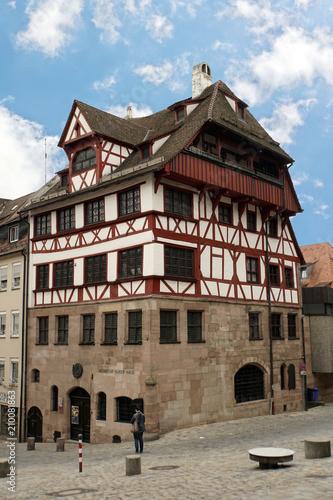 historische Altstadt Nürnberg - Albrecht-Dürer-Haus\