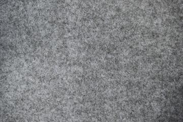 Dark grey felt texture background
