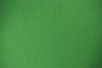Green felt texture background