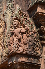 Banteay Srei angkor cambodia ancient sculpture relief