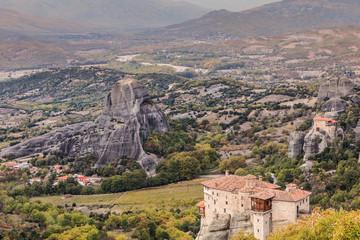 Monasteries in Meteora, Greece