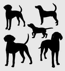 Dog mammal animal silhouette