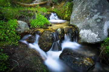 Babbling Brook Falls in Yosemite National Park