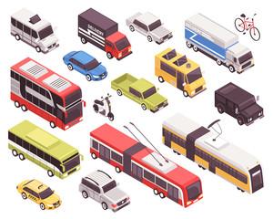 Transport Isometric Set