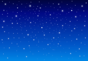 Night starry sky. Abstract starry sky. Night sky with shining stars