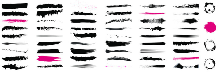 Brush Set, Brush Strokes