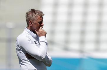 World Cup - Iceland Training