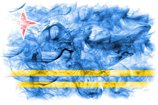 Aruba smoke flag, Netherlands dependent territory flag