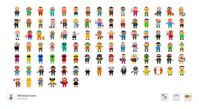 Miniman icons