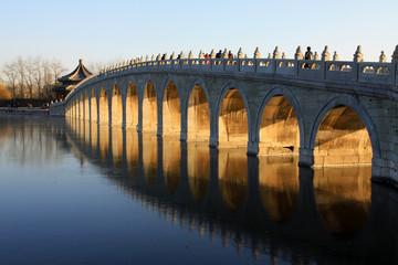 Seventeen Holes Bridge scene